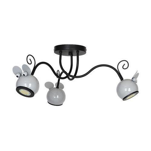 Lampa dziecięca mouse 3xgu10/40w/230v marki Decoland