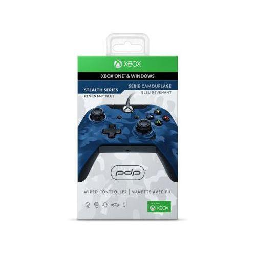Kontroler przewodowy PDP Revenant Blue do Xbox One/PC (0708056061876)