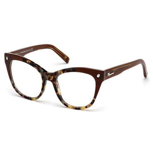 Okulary korekcyjne  dq5160 avignon 055 marki Dsquared2