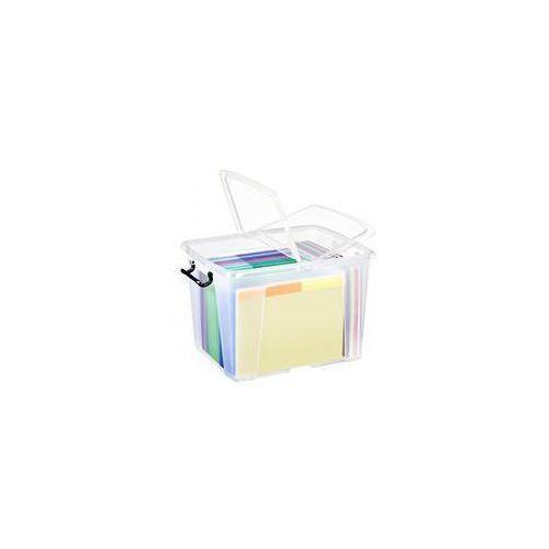 Pojemnik biurowy CEP Smartbox, 40l, transparentny, CHW674-90