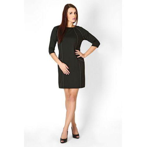 Sukienka sendy czarny, Vera fashion