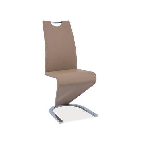 Signal Krzesło h-090 ciemny beż chrom