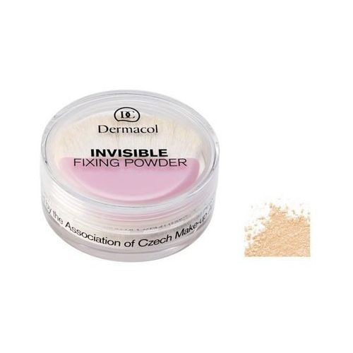 Dermacol  invisible fixing powder - sypki puder fixujący natural, 13 g (85950856)