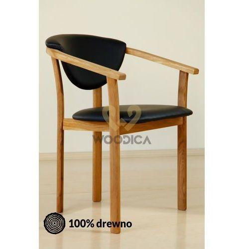 Fotel dębowy c marki Woodica
