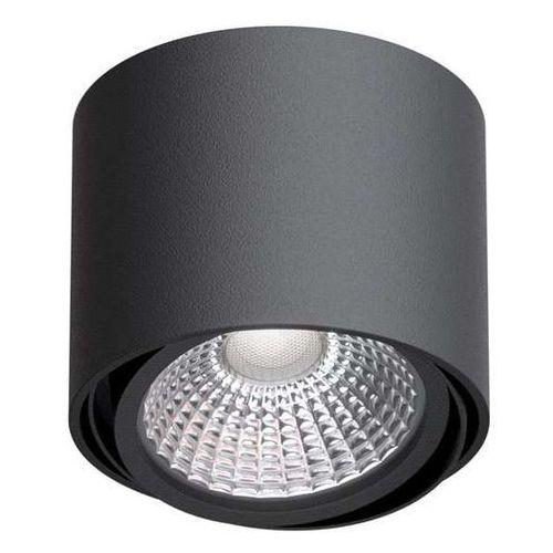 Downlight LAMPA sufitowa TITO T113C1+kolor Cleoni metalowa OPRAWA natynkowa SPOT tuba, kolor Biały