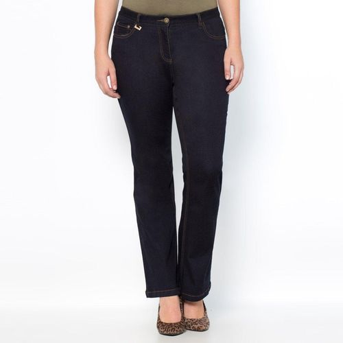 Streczowe dżinsy bootcut courbes généreuses długość w kroku. 73 cm, jeans