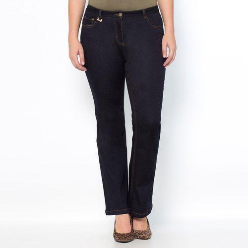 Streczowe dżinsy bootcut smukła sylwetka wewn. dł. nogawki. 78 cm, Castaluna