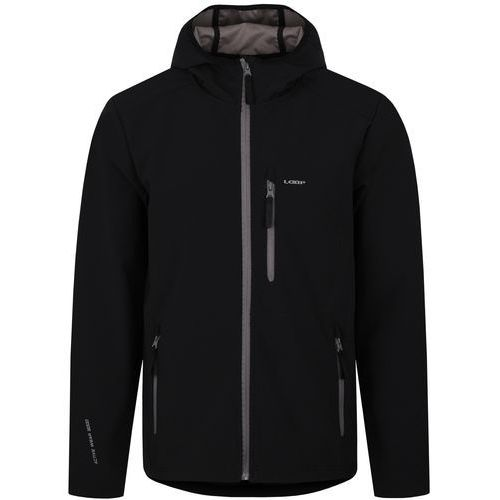 Loap męska kurtka softshell lenc, czarny, m (8592946577132)