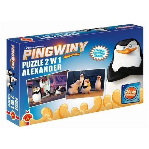 Puzzle 2 w 1. Pingwiny z Madagaskaru. ALEX, 5_500149