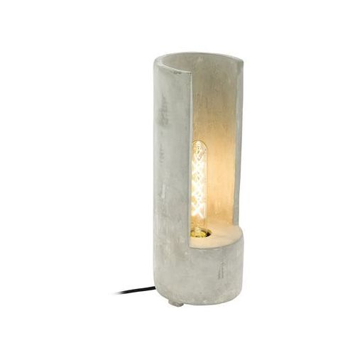 Lampa stołowa lynton 49112 lampka 1x60w e27 szara marki Eglo