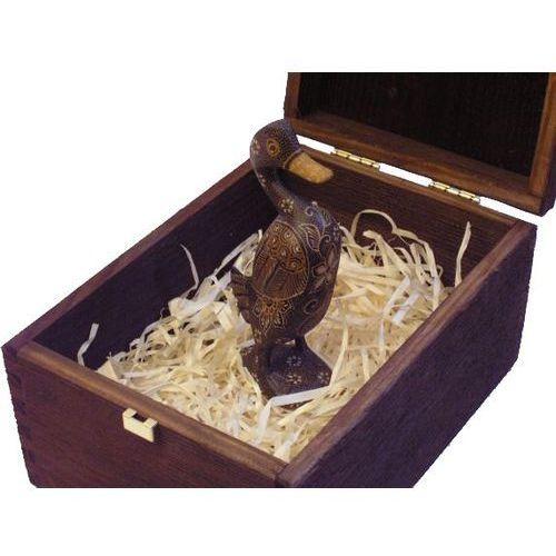Wewnętrzny prezent rzeźba kaczka ciekawości marki Wyspa java