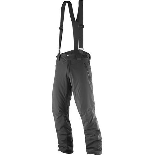 Salomon Iceglory Spodnie długie Mężczyźni czarny XL 2017 Spodnie syntetyczne