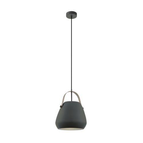 Eglo Bednall 98349 lampa wisząca zwis oprawa 1x60W E27 szara, kolor Szary