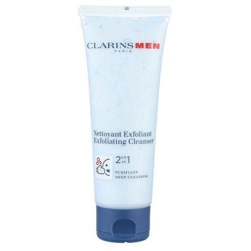 Clarins Men Exfoliating Cleanser 2in1 peeling 125 ml dla mężczyzn (3380813063100)