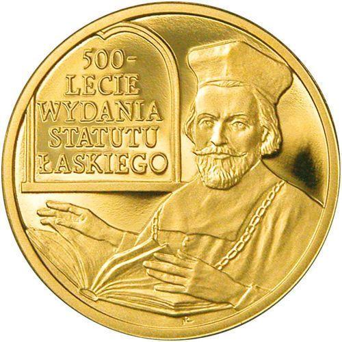 100 zł - 500-lecie wydania Statutu Łaskiego - 2006