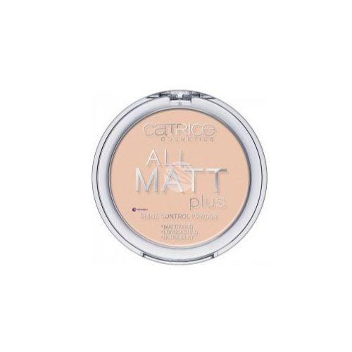 Catrice all matt plus powder (w) puder w kamieniu 010 transparent 10g