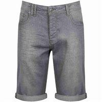 Szorty - roadhouse v8 mid worn - grey (wa015-gy) rozmiar: 36, Bench