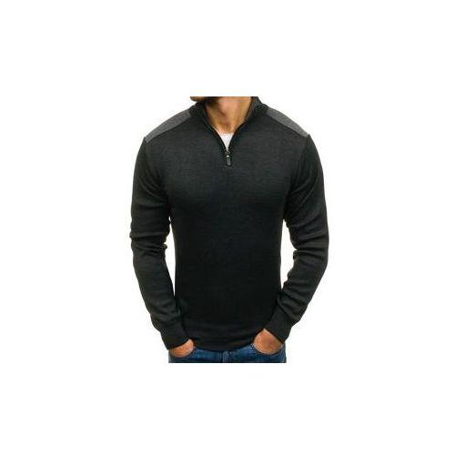 Sweter męski antracytowy Denley BM6039