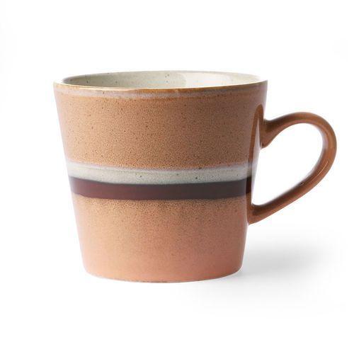 Hk living kubek ceramiczny do cappuccino 70's: stream ace6865 (8718921031844)