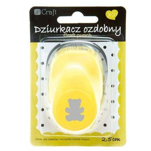 Dalprint Dziurkacz ozdobny 2,5 cm miś (5907589904437)