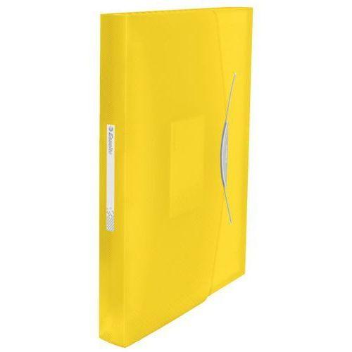 Teczka harmonijkowa Esselte Vivida A4/6 przegródek, żółta 624020