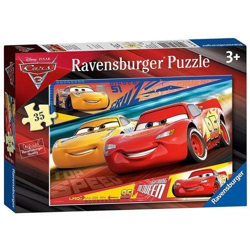 Puzzle auta 3, 35el marki Tm toys