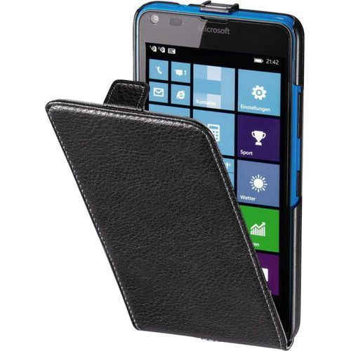 Etui na smartfon HAMA Smart Case do Microsoft Lumia 640 Czarny (4047443316912)
