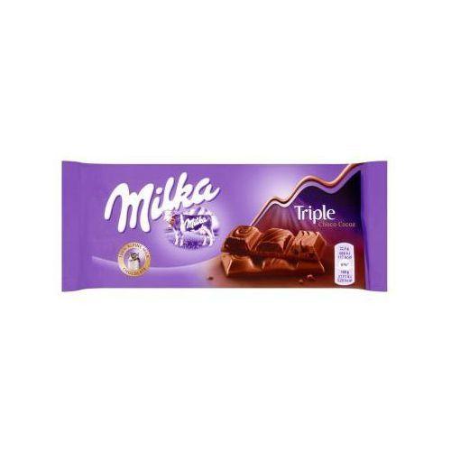Kraft Czekolada milka triple choco cocoa 90 g