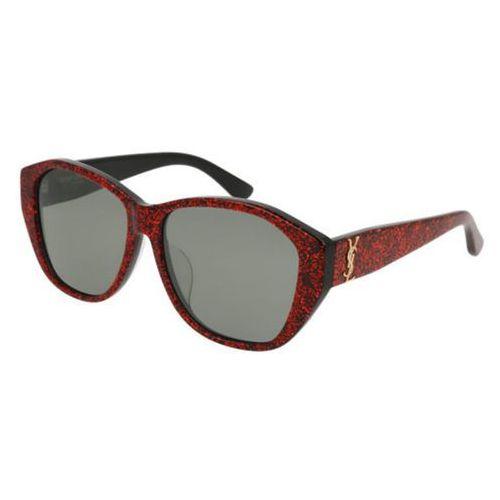 Okulary Słoneczne Saint Laurent SL M8/F Asian Fit 004