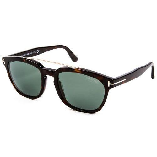 Tom ford Okulary słoneczne ft0516 polarized 52r