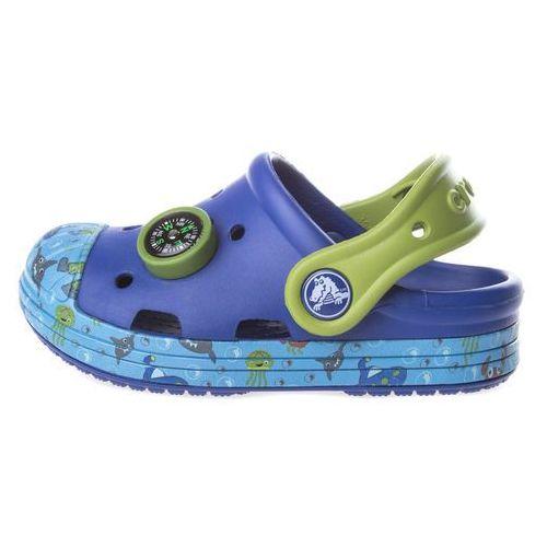 Crocs Crocs Bump It Sea Life Clog dziecięce Niebieski 23-24, kolor niebieski