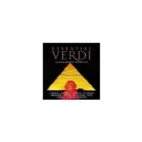 Universal music / decca Essential verdi - 40 of his greatest masterpieces (0028946712825)