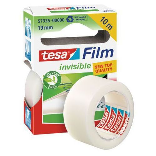 Tesa Taśma klejąca film invisible 19mmx10m mleczna 57335