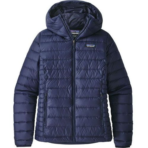 Patagonia Down Sweater Kurtka Kobiety niebieski L 2019 Kurtki zimowe i kurtki parki
