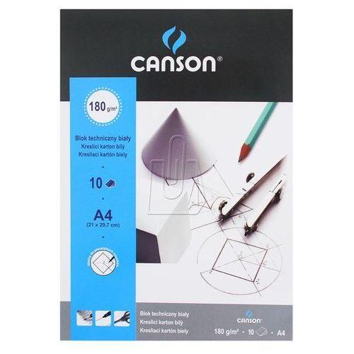 Blok techniczny a4 biały marki Canson