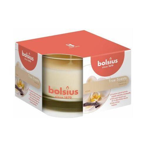 Świeca zapachowa w szkle True Scents wanilia Bolsius (8717847136107)
