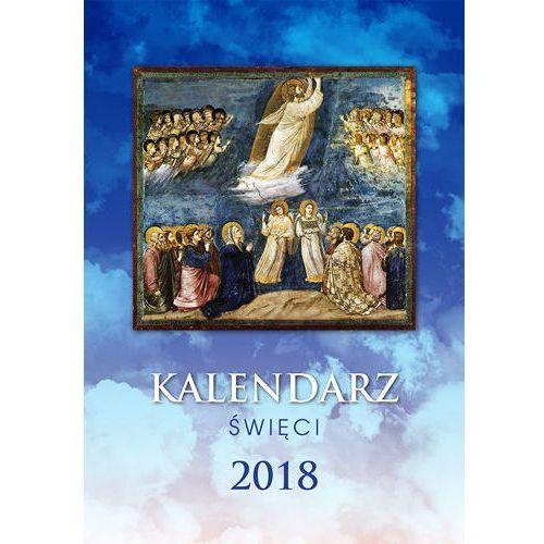 Praca zbiorowa Kalendarz święci 2018 ścienny (5908311900826)