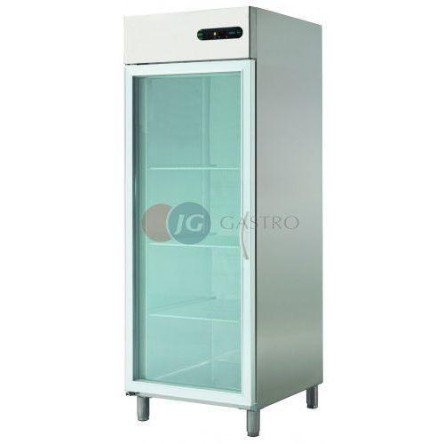 Asber Szafa chłodnicza 1-drzwiowa przeszklona 700 l ecp-701 glass r
