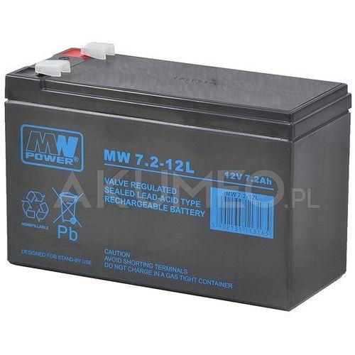 Akumulator agm mw 7.2-12l vrla 12v 7.2ah marki Mw power