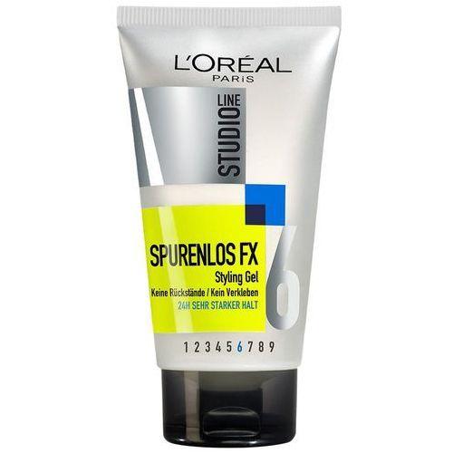 L'oréal paris studio line żel do włosów ślady los fx styling gel, 24h mocny chwyt, 1 x 150 ml (3600522471790)