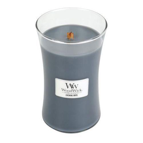 Woodwick - świeca duża evening onyx 175h