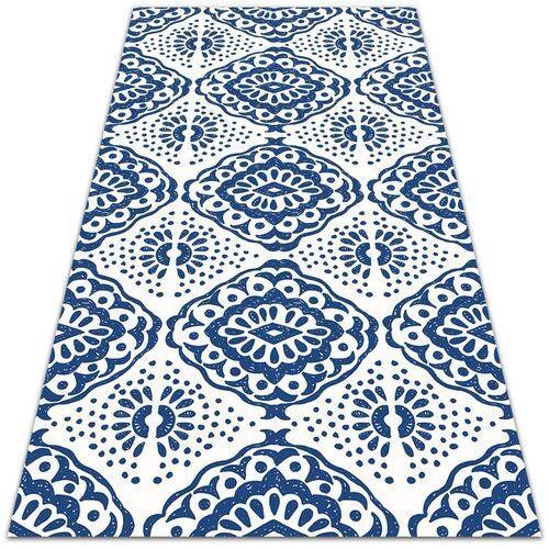 Dywanomat.pl Modny uniwersalny dywan winylowy modny uniwersalny dywan winylowy niebieskie wzory