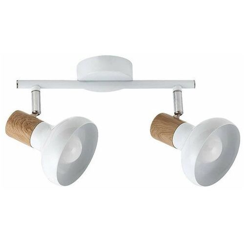 Rabalux Listwa holly 5944 lampa sufitowa 2x40w e14 biały/brązowy (5998250359441)