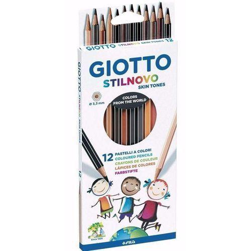 Giotto Stilnovo Kredki pastelowe 12 sztuk - Fila OD 24,99zł DARMOWA DOSTAWA KIOSK RUCHU