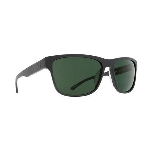 Okulary Słoneczne Spy WALDEN Polarized Walden Matte Black - Happy Gray Green Polar, kolor zielony