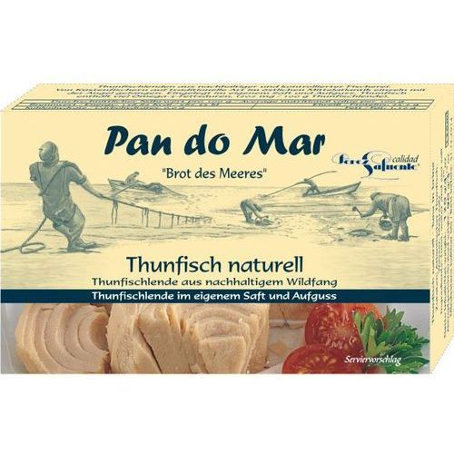 Pan do mar Tuńczyk w solance 6x120g bio