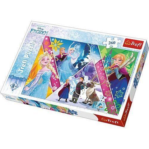 Puzzle kraina lodu magiczne wspomnienia 260 marki Trefl