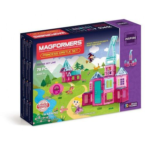 Klocki Magformers Princess Castle Set 78