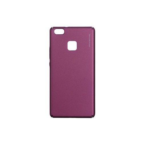 Huawei p9 lite - etui na telefon knight - red wine marki X-level