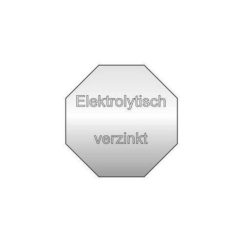 Eugen wolf Ocynkowane, elektrolitycznie,idealne do zastosowania w pomieszczeniach wilgotnych